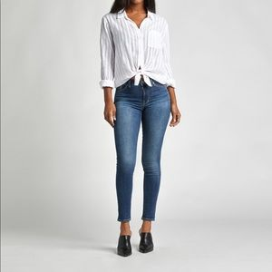 Silver Jeans Bleecker Mid-Rise Jegging Jeans VGUC
